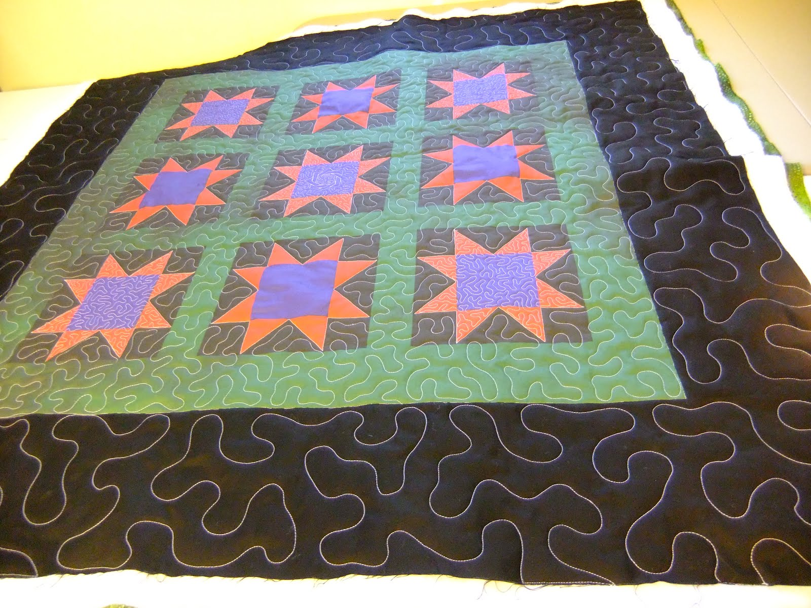 The Free Motion Quilting Project: Quilt Along #6 - Stippling in ... : what is stippling in quilting - Adamdwight.com