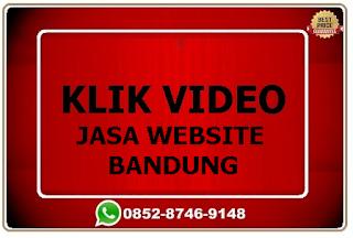 Jasa pembuatan website profesional Bandung