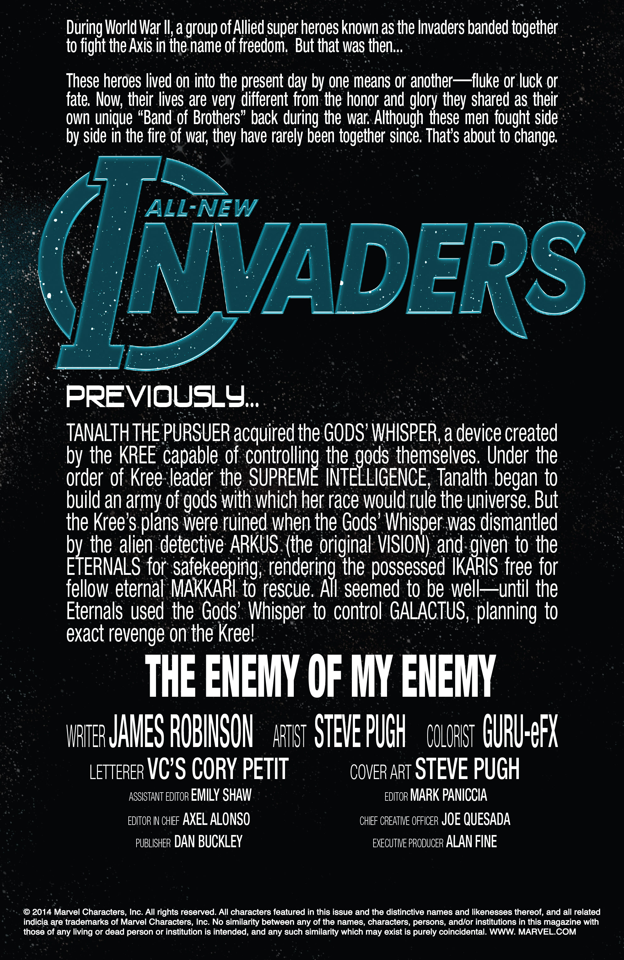 Read online All-New Invaders comic -  Issue #13 - 2