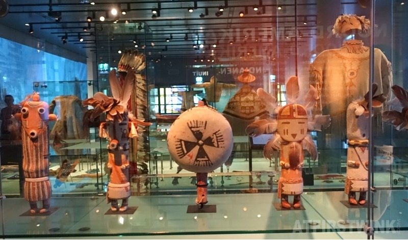 Museum Volkenkunde Leiden North Pole and North America wooden dolls