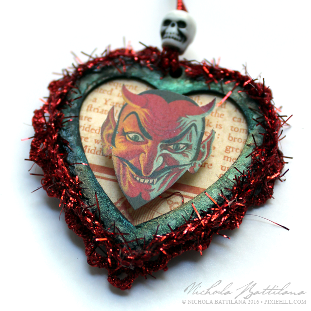 Devilish Charm Tag - Nichola Battilana