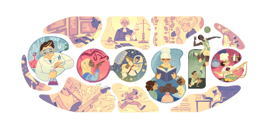 Imagen google del día de la mujer