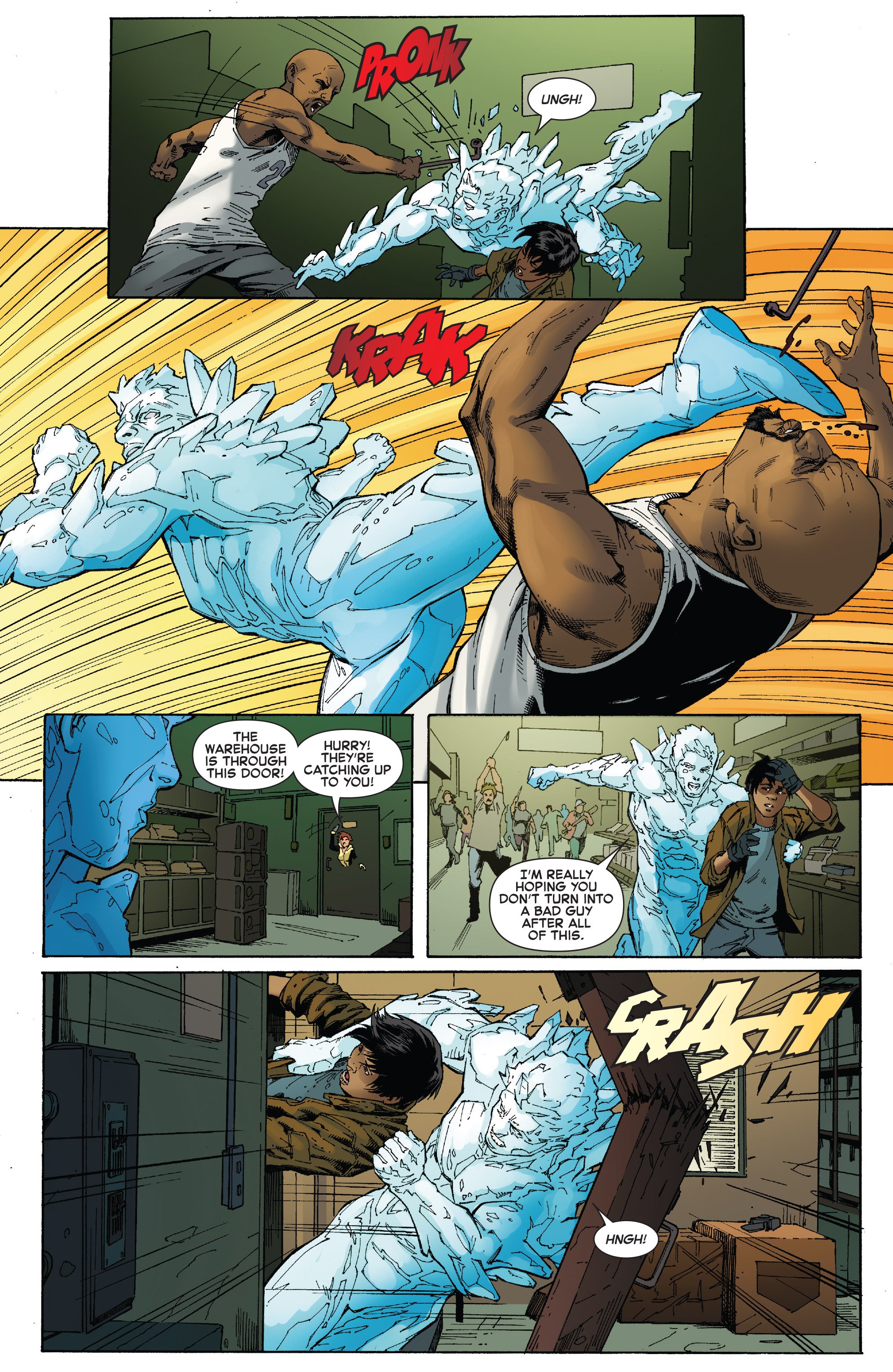 Read online Iceman (2017) comic -  Issue #2 - 13
