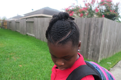 FIRST DAY OF SCHOOL {2016-2017) 3rd and 6th grade   Natural Hair Hairstyles