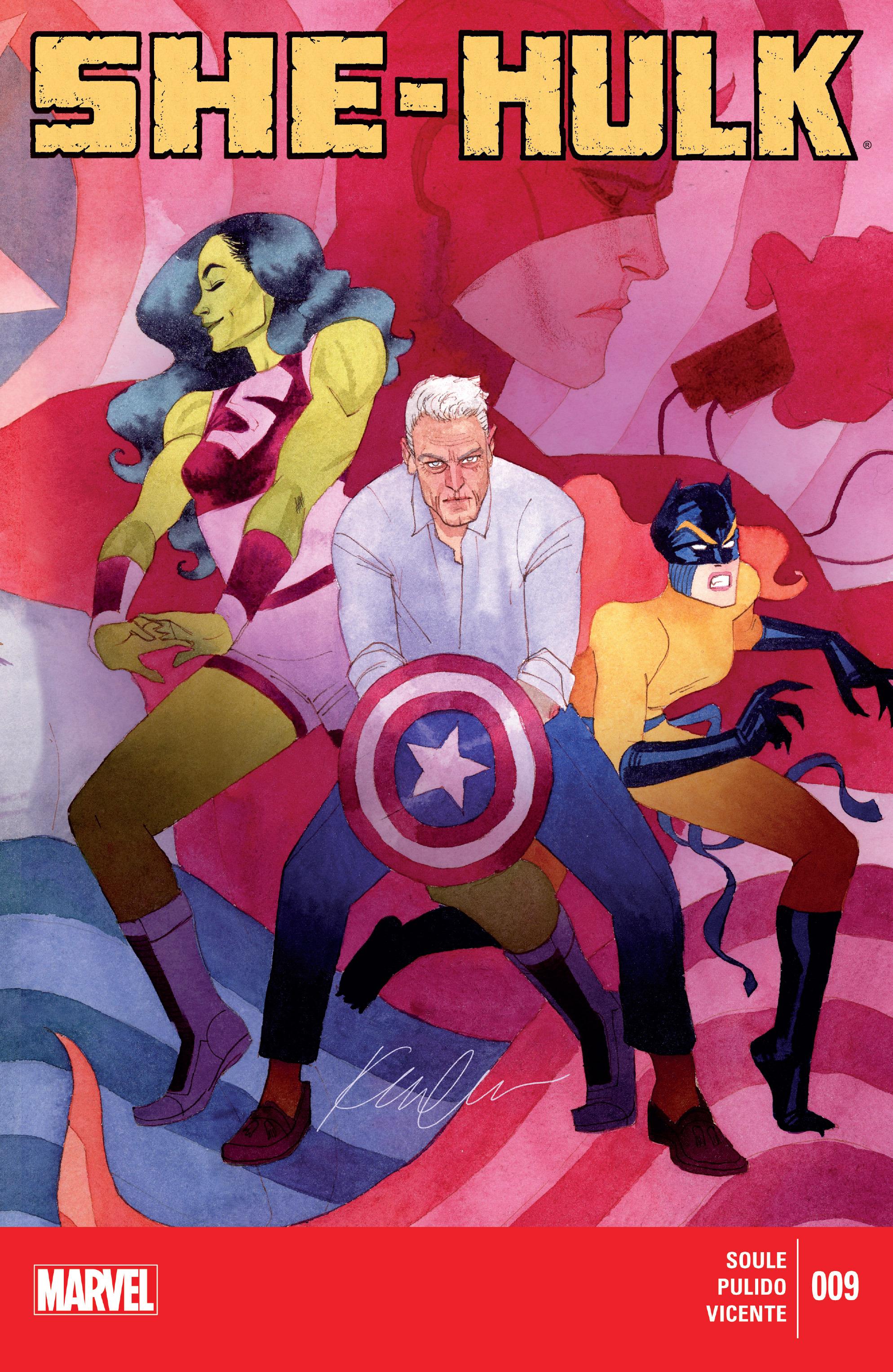 Read online She-Hulk (2014) comic -  Issue #9 - 1