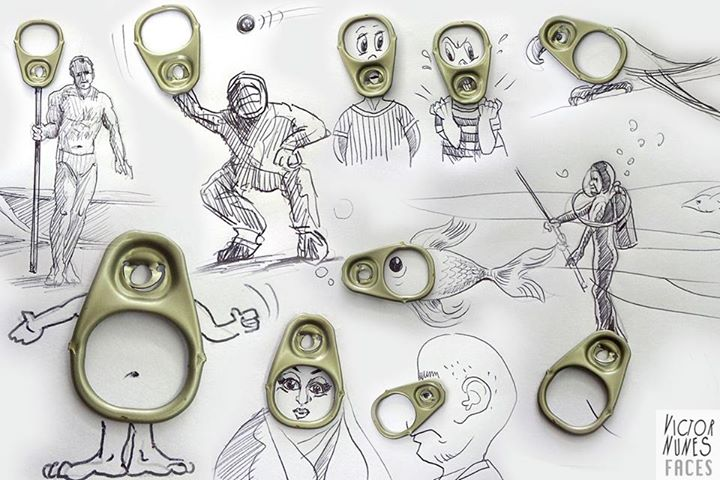 17-Can-Opener-Victor-Nunes-The-Art-of-Making-and-Drawing-Faces-using-Everything-www-designstack-co