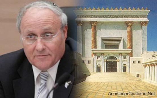 Zevulun Orlev promueve la construcción del Tercer Templo de Jerusalén