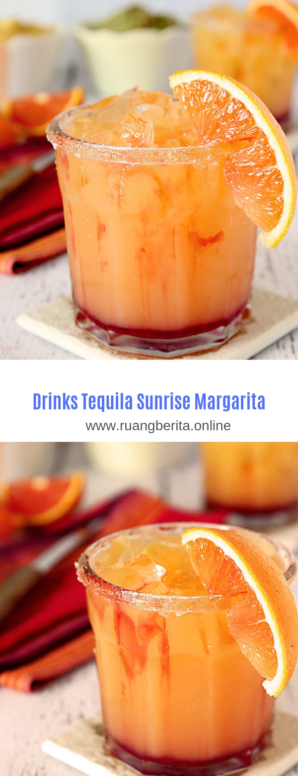 Drinks Tequila Sunrise Margarita