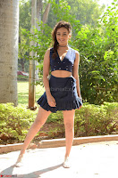 Seerat Kapoor Stunning Cute Beauty in Mini Skirt  Polka Dop Choli Top ~  Exclusive Galleries 024.jpg