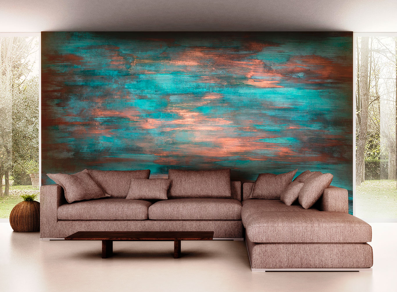 Cobre oxidado verderame novacolor - Pinturas decorativas en paredes ...