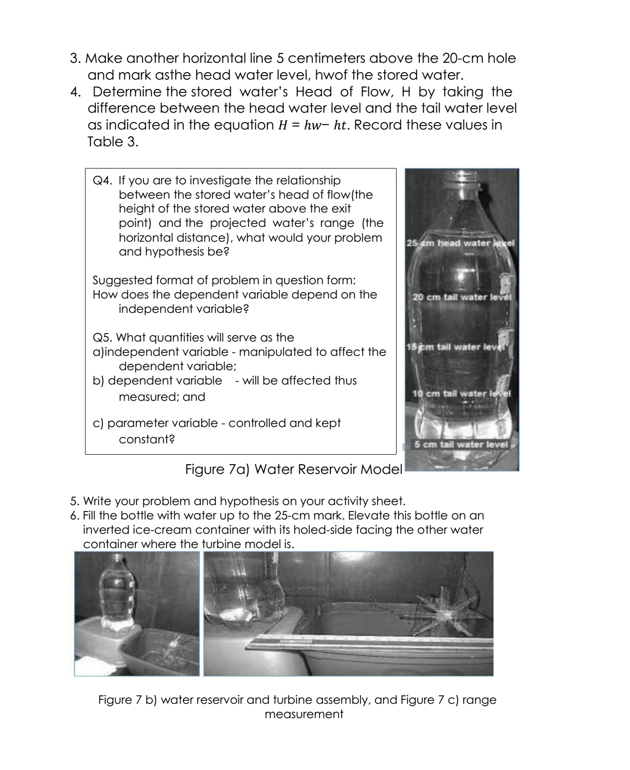 Science Concepts And Questions K To 12 Work Power And Energy Activities
