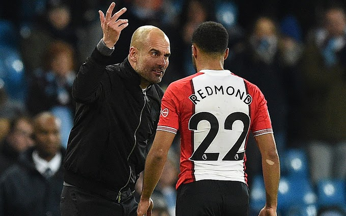 What Pep Guardiola said in tirade at Nathan Redmond after Man City's late victory against Southampton [See video]