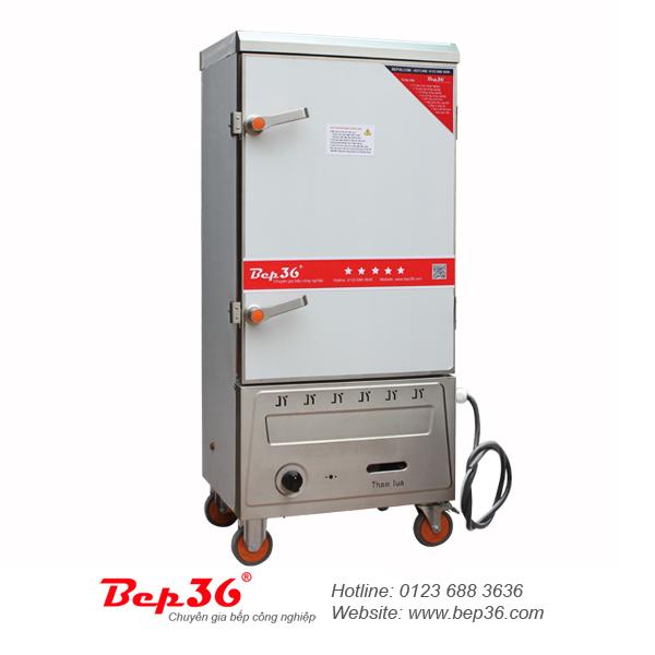 Tủ nấu cơm gas điện 10 khay tại Thanh Hóa