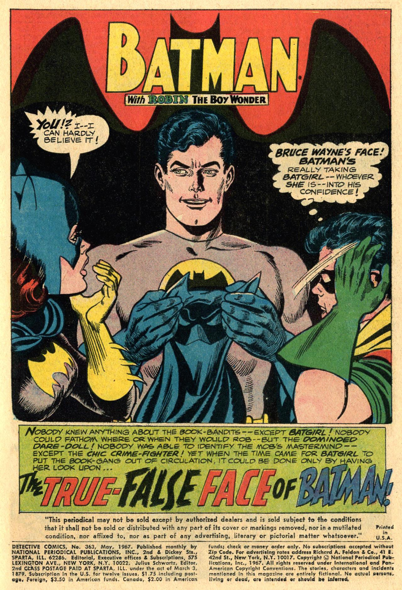 Detective Comics (1937) 363 Page 2