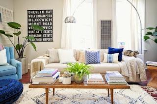gambar dekorasi ruang tamu minimalis yang sederhana terbaru
