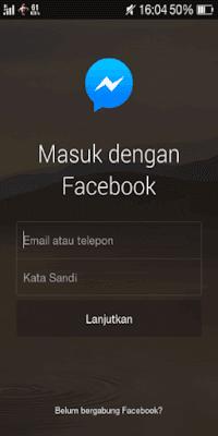 تحميل فيس بوك ماسنجر شفاف للاندرويد 2017