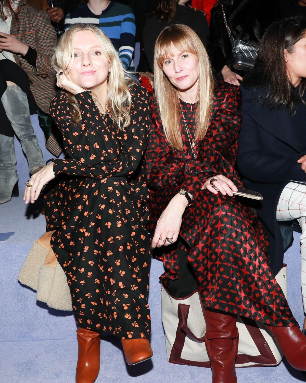 Amy Astley At Tom Ford Fashion Show At New York Fashion Week 2018