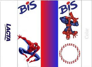 Etiquetas de Spiderman para imprimir gratis.