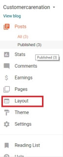 Website का layout कैसे Change करे?