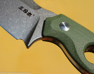 Sanrenmu SRM S725 tactical fixed blade knife