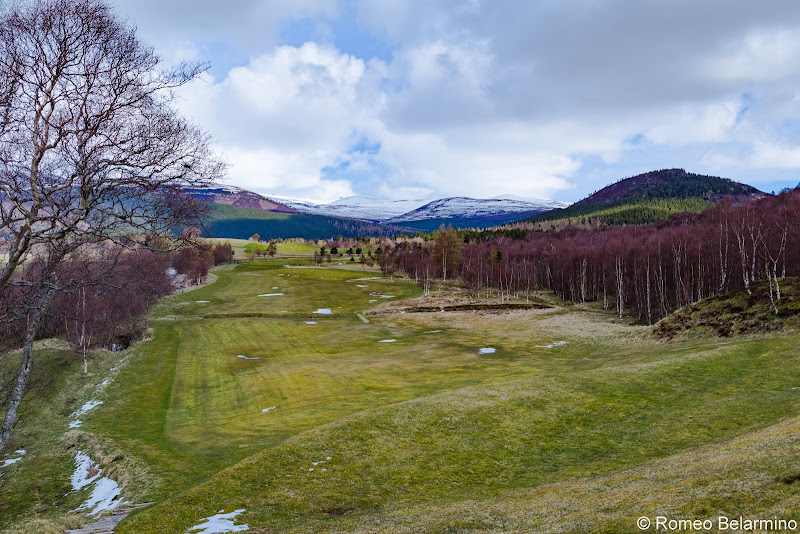 Braemar Golf Club Hole 2 From Tee Box Top Scottish Golf Courses