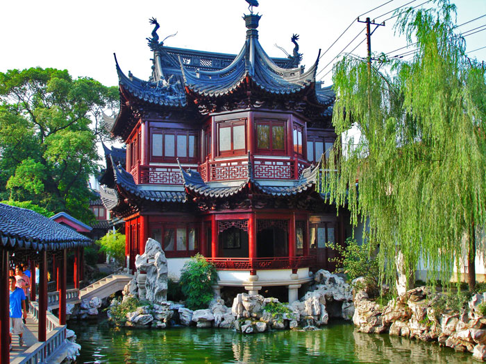 mirando al mundo con sentimientos el jard n yuyuan en