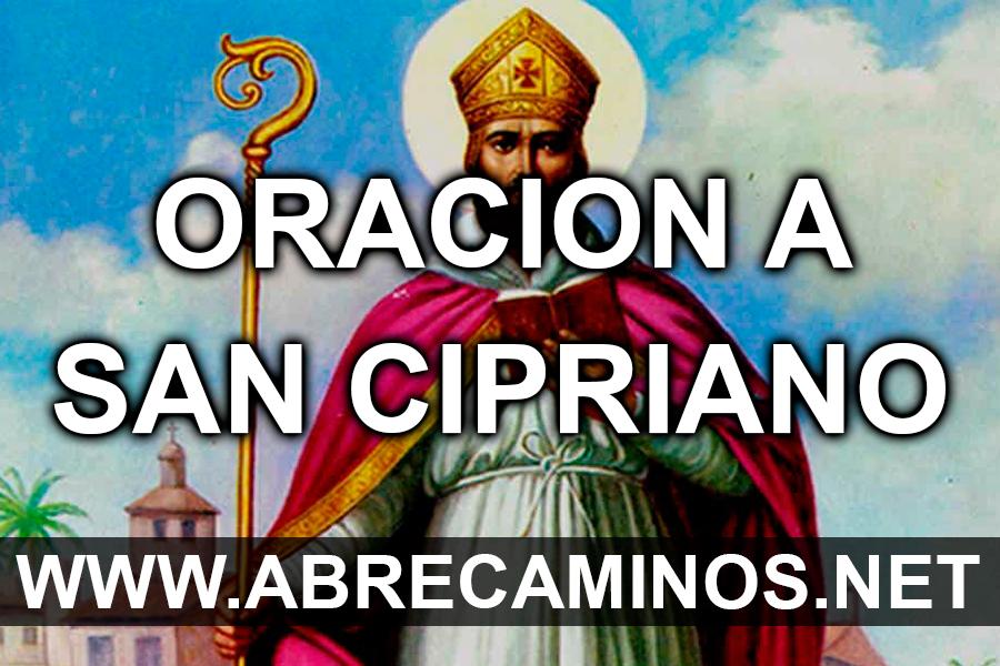 Oración Abre Caminos a San Cipriano