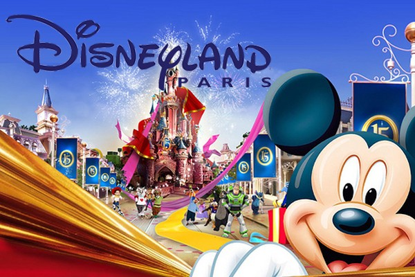 Paris Car Service from Charles de Gaulle Airport to Disneyland Paris