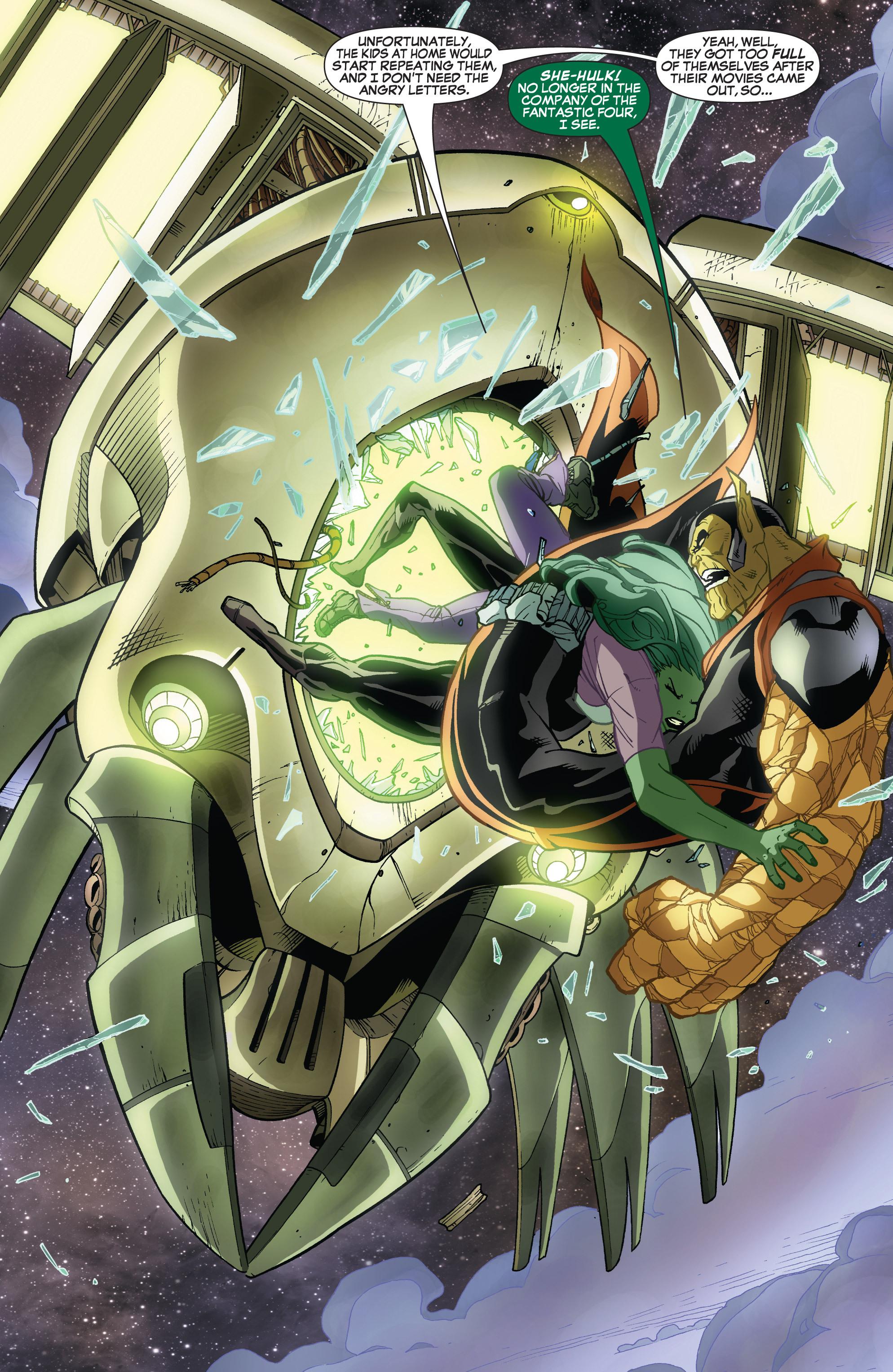 Read online She-Hulk (2005) comic -  Issue #32 - 20