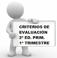 CRITERIOS EVALUACION 2º PRIM, 1º TRIM.