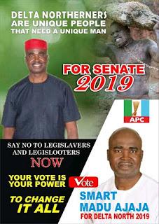 Smart ajaja for senator