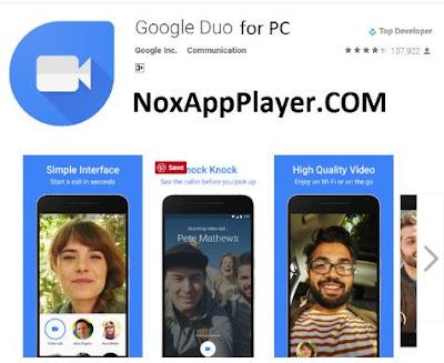 yakni aplikasi Video Calling yang sangat digemari yang dikembangkan oleh Google Download Google Duo for PC dan Cara Menggunakan Google Duo