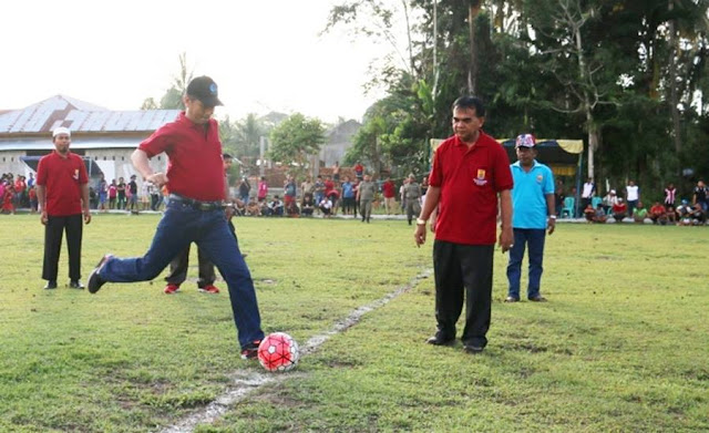 Gelar Pertandingan Antar Club, Pemko Pariaman Jaring Pesepakbola Porprov