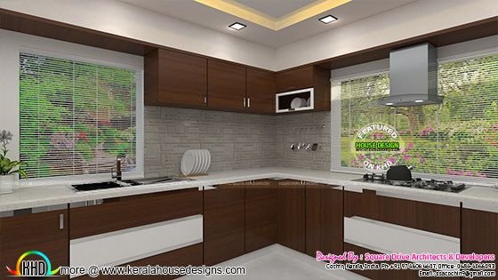 Kitchen modern interior