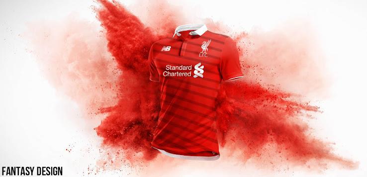 7e4426b38 Fake! New Balance Liverpool Home Kit Leaked - Footy Headlines
