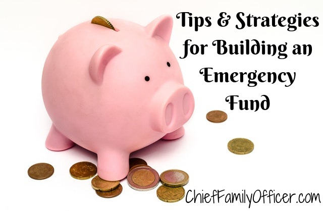 Tips & Strategies for Building an Emergency Fund