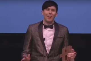 watch Phil won the British Creator of the year award at the BONCAs and because he has spent most of 2016