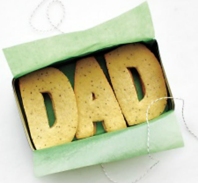 How to make DAD sugar cookies for Father's Day