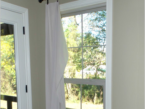 Dropcloth Curtains...