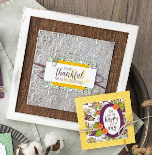 VIDEO: Stampin' Up! Tin Tile Embossing Folder & Country Lane Projects ~ 2018 Holiday Catalog