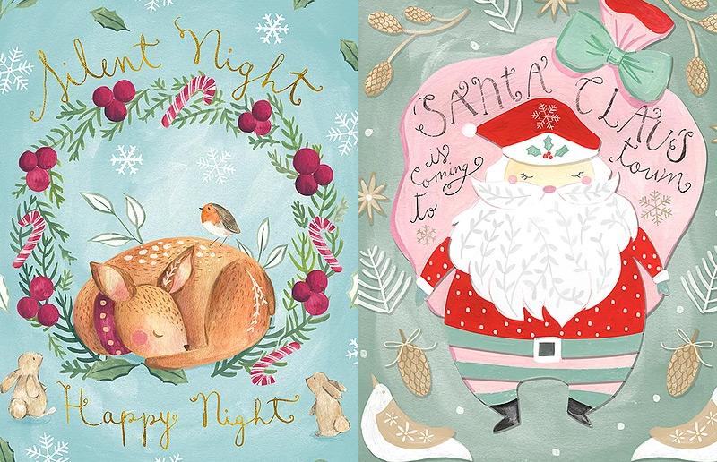 Você precisa conhecer: as ilustrações de Natal da Bianca Pozzi! | Casa&Cozinha