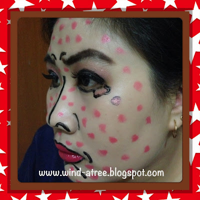 Makeup Look - Comic Pop Art (Versi Wayang Orang)