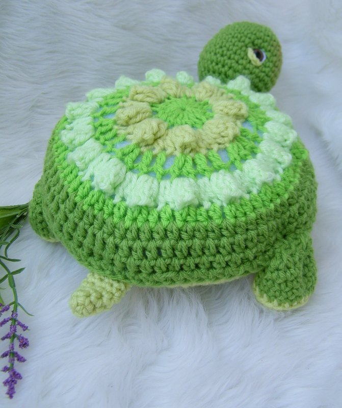 Simply Cute Turtle Pattern is available through Ravelry , Craftsy or ...