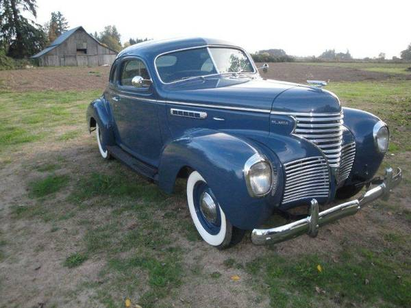 1939 Desoto S6 Business Coupe Auto Restorationice