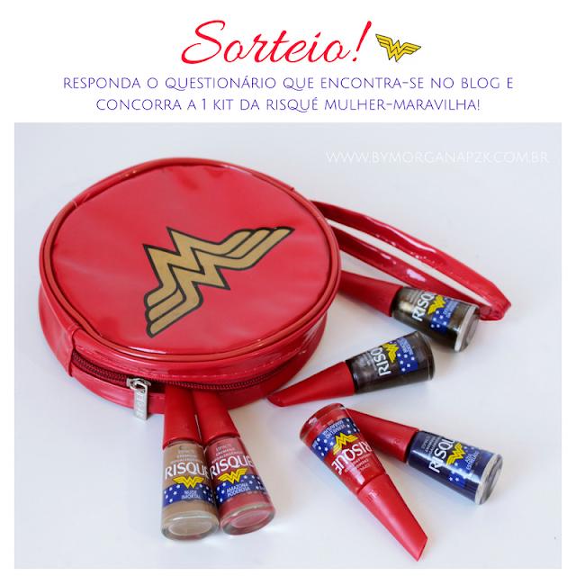 Sorteio (1 Kit Risqué Mulher-Maravilha)