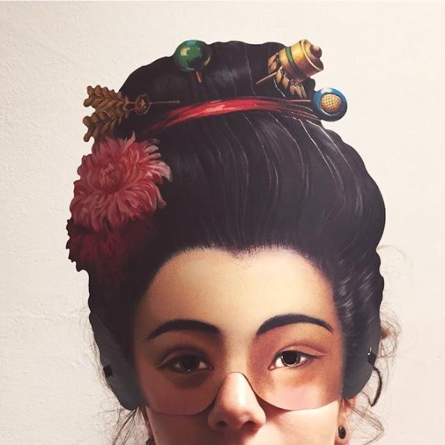 máscara vitoriana, máscara papel, vintage, carnaval vintage