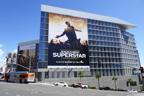 Jesus Christ Superstar TV billboard