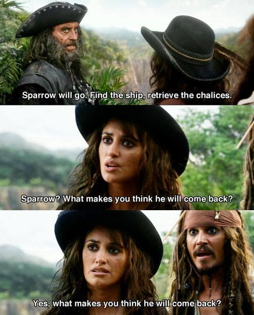 Johnny Depp Motivational Quotes and Pirates of the Caribbean ...