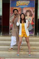 Parineeti Chopra with Ayushmann Khurrana at the Launch of Trailer of Meri Pyaari Bindu 025.JPG