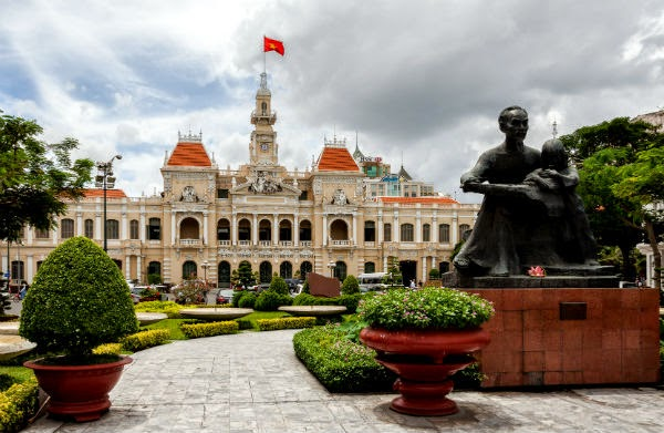 tourist places in Ho Chi Minh City Vietnam